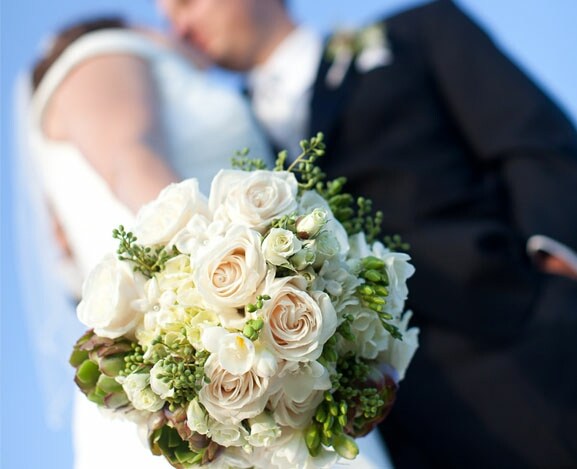 San Diego Bay Flower Company Wedding Bouquets